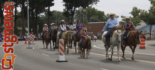 he High Noon parade featured horses and all symbols representing the old western film heritage. Kanab, Utah, Aug. 23, 2013. Photo by Samantha Tommer, St. George News