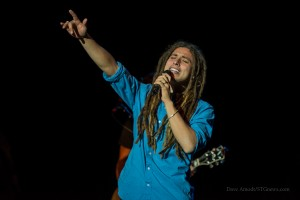 Jason Castro. Into the LIght Concert, Cox Stadium, Dixie State University, St. George, Utah, Sept. 28, 2013 | Photo by Dave Amodt, St. George News