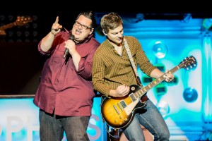 Sidewalk Prophets. Into the LIght Concert, Cox Stadium, Dixie State University, St. George, Utah, Sept. 28, 2013 | Photo by Dave Amodt, St. George News