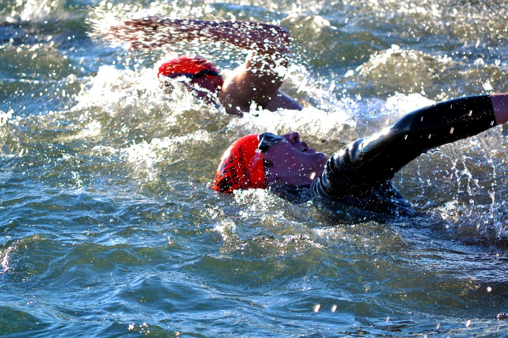 Perfect Weather Dogged Competitors Make Kokopelli Tri Memorable Stgnews Photo Gallery St