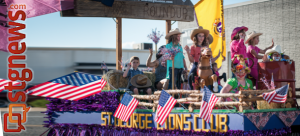 St. George Lions Club Dixie Roundup Rodeo Parade, St. George, Utah, Sept. 14, 2013 | Photo by Dave Amodt, St. George News