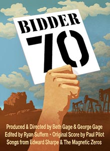 """Poster for """"Bidder 70"""""""