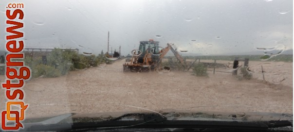 Flooding near Panguitch, Utah, Sept. 1, 2013 | Photo courtesy of the Garfield County Sheriff's Office
