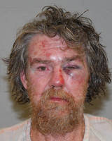 John Stettler Stucki the night of his arrest falling the fight with Donald Loomer, booking photo, Washington County Sheriff's Department, Hurricane, Utah, Oct. 8, 2013 | Photo courtesy of Washington County Sheriff's Office, St. George News