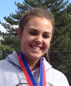 1st singles State champion Lacey Hancock, for Pine View, Salt Lake City, Utah, Oct. 11, 2013 | Photo courtesy of Harold Nelson
