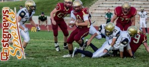 Cedar and Snow Canyon played a 27-24 thriller a year ago. File photo from Cedar City, Utah, Sept. 21, 2012 | Photo by Chris Caldwell