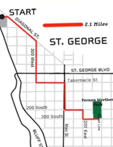Mayor's Walk St. George, Utah, Oct. 5, 2013 | Image by the City of St. George