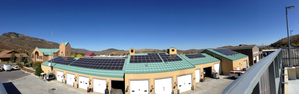 Commercial solar power system | Photo courtesy of Intermountain Wind and Solar, St. George News