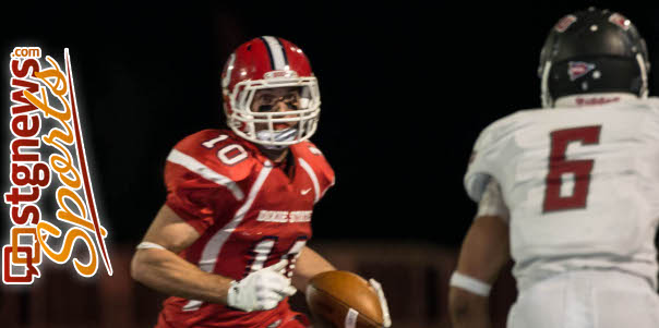 DSU's Mitch Frei had another huge game. File photo from Western Oregon at Dixie State, St. George, Utah, Oct. 19, 2013   Photo by Dave Amodt, St. George News