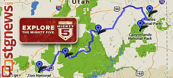 Herbert To Utahns Be Ambassadors Of Utahs Mighty 5