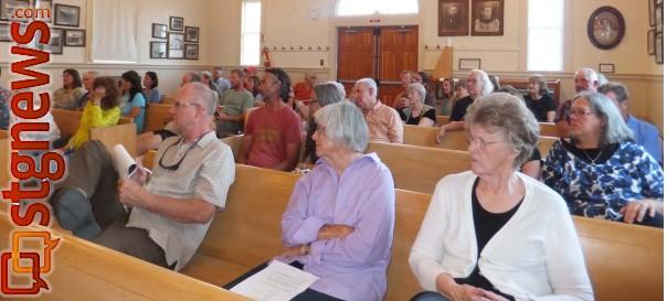 Rockville Town meeting participants, Rockville, Utah, Sept, 24, 2013 | Poto by Dan Mabbutt, St. George News