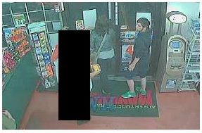 Surveillance footage of possible suspects in vehicle burglary/credit card fraud report, St. George, Utah, Oct. 30, 2013 | Photo courtesy of the St. George Police, St.George News