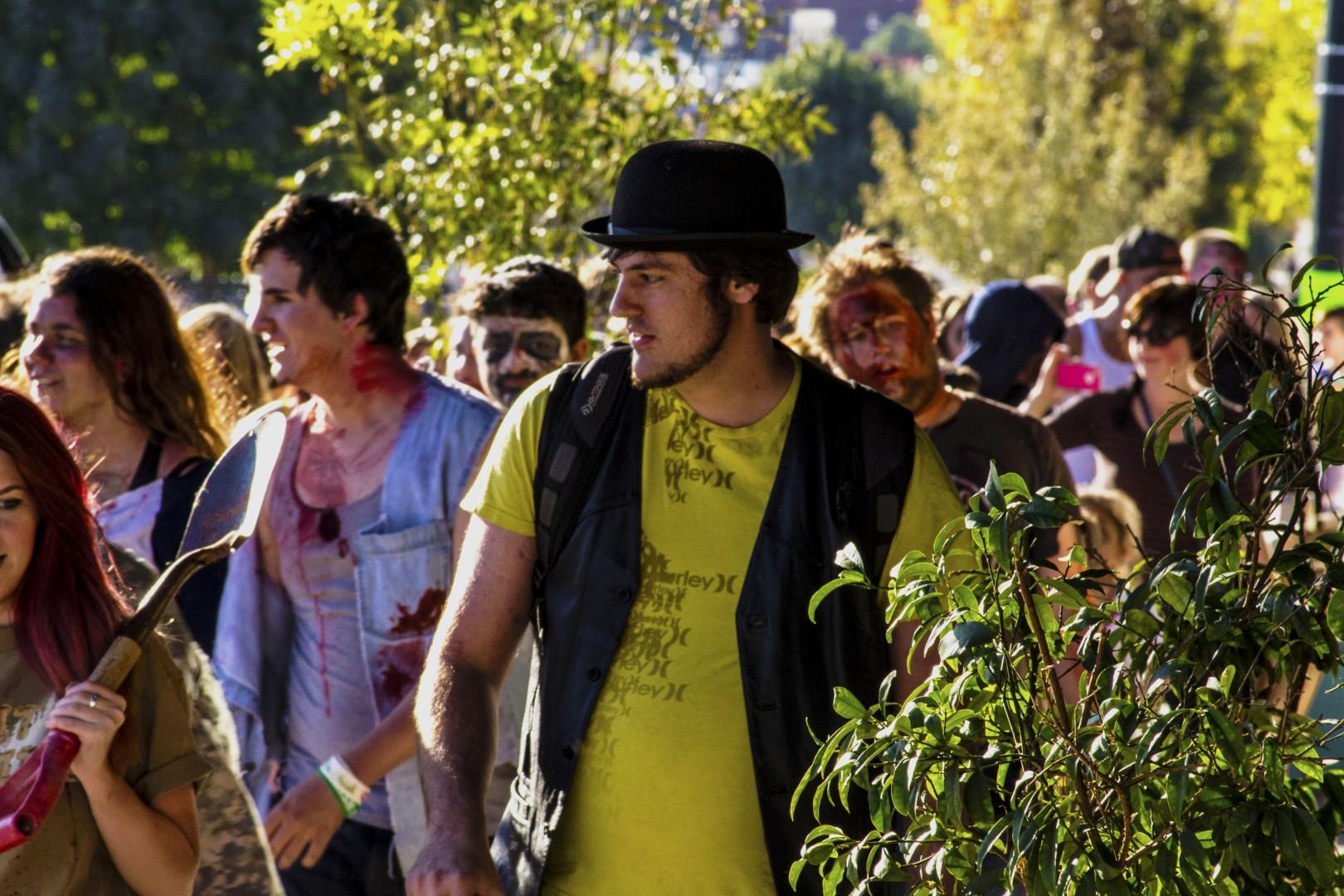 St. George Zombie Walk, St. George, Utah, Oct. 26, 2013 | Photo by Jeremy Crawford, St. George News