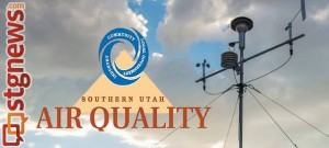 City of St. George air quality monitoring machine, St. George, Utah, Aug. 15, 2013   Photo by Dave Amodt, St. George News