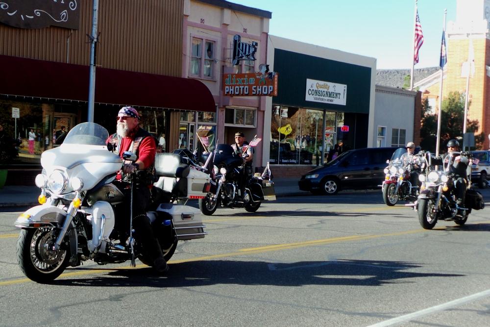 Patriot Guard Riders of Southern Utah, City of St. George/American Legion Post 90 Veterans Day Parade and Concert, St. George, Utah, Nov. 11, 2013 | Photo by Alexa Verdugo Morgan, St. George News