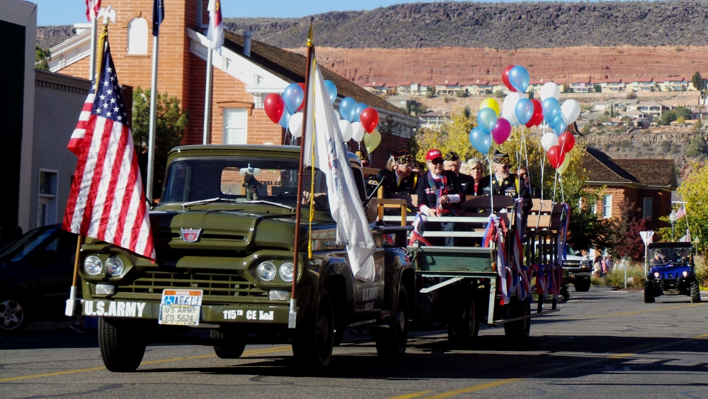 American Legion Post 90, City of St. George/American Legion Post 90 Veterans Day Parade and Concert, St. George, Utah, Nov. 11, 2013 | Photo by Alexa Verdugo Morgan, St. George News