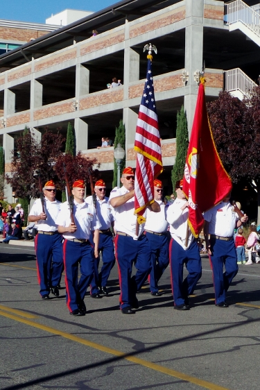 Marine Corps League, City of St. George/American Legion Post 90 Veterans Day Parade and Concert, St. George, Utah, Nov. 11, 2013 | Photo by Alexa Verdugo Morgan, St. George News