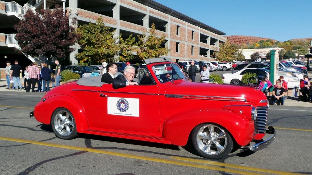 Utah State Reps. Jon Stanard, Don Ipson and V. Lowry Snow, City of St. George/American Legion Post 90 Veterans Day Parade and Concert, St. George, Utah, Nov. 11, 2013 | Photo by Alexa Verdugo Morgan, St. George News