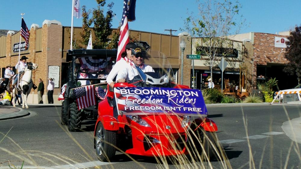 Bloomington Freedom Riders, City of St. George/American Legion Post 90 Veterans Day Parade and Concert, St. George, Utah, Nov. 11, 2013 | Photo by Alexa Verdugo Morgan, St. George News