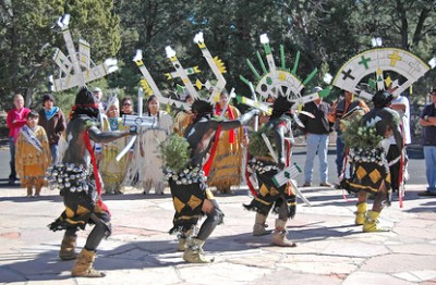 Dishchii'bikoh Apache Crown Dancers will be performing at Grand Canyon's Native American Heritage celebration in 2013| Photo courtesy of National Parks Services