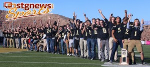 Desert Hills state championship celebration, St. George, Utah, Nov. 25, 2013 | Photo by John Teas, St. George News