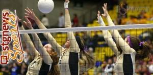 3A State Volleyball Tournament, Orem, Utah, Nov. 1, 2013 | Photo by Robert Hoppie, St. George News