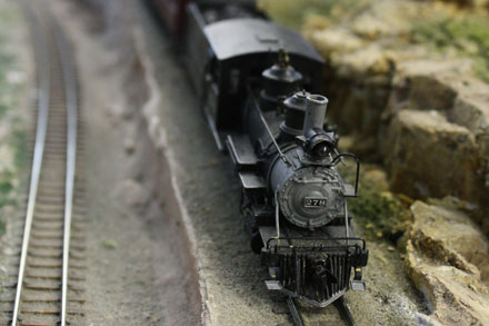 HO scale model train | Photo courtesy of the Colorado Railroad Museum