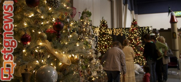 "There is a section of the Dixie Center where ""Previously Loved Trees"" are on display. These trees were showcased in previous years, St. George, Utah, Nov. 23. 2013 