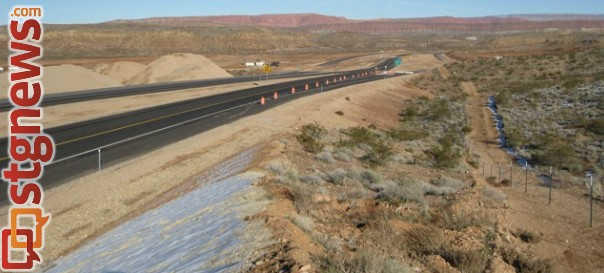 The Southern Parkway is Washington County, Utah, date unknown   Photo courtesy the Utah Department of Transportation, St. George News