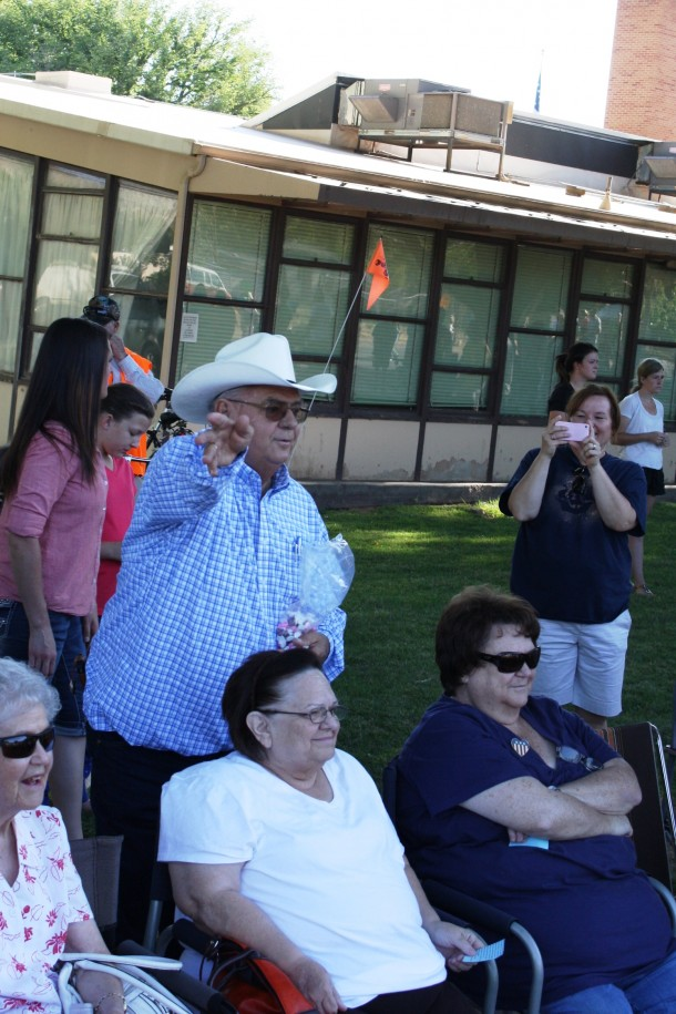 Mayor Tom Hirschi attends the Hurricane Pioneer Day 2013 parade, Hurricane, Utah, July 24, 2013 | Photo by Reuben Wadsworth, St. George News
