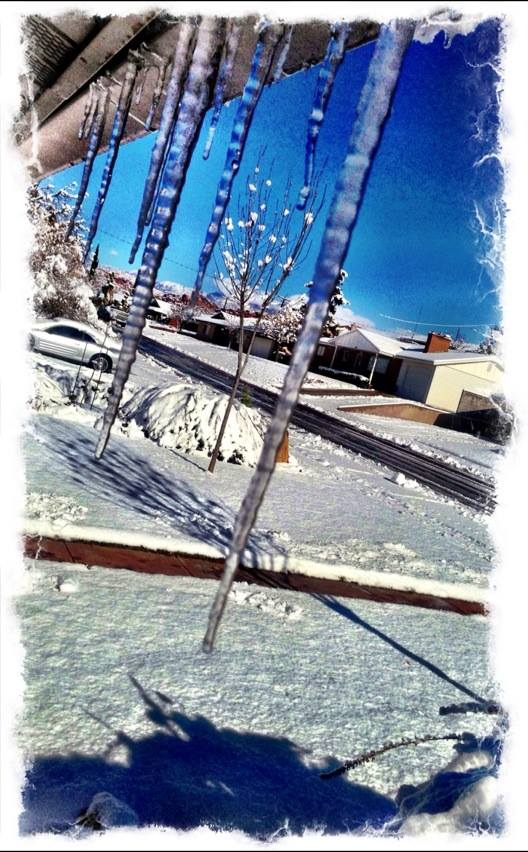 Icicles, St. George, Utah, Dec. 8, 2013 | Photo by John Teas, St. George News