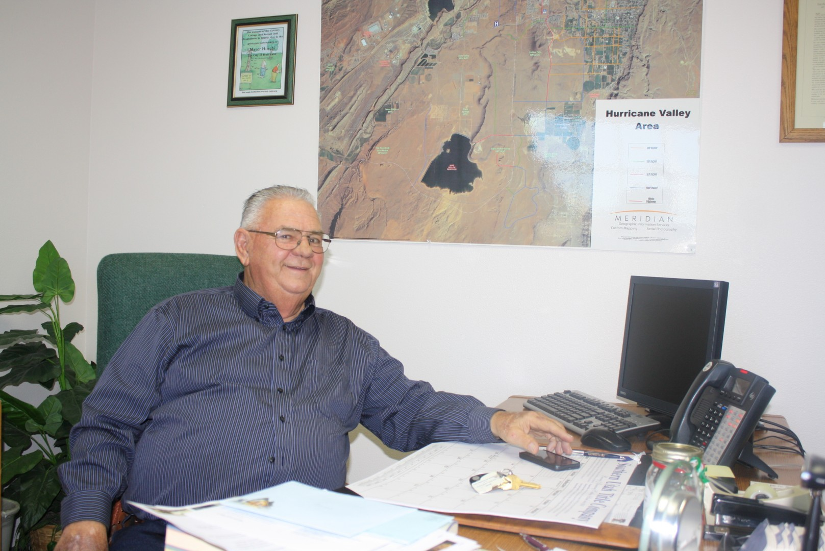 Mayor Tom Hirschi, Hurricane, Utah, Dec. 13, 2013   Photo by Reuben Wadsworth, St. George News