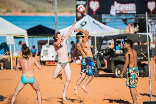 Sand Hollow Mayhem at Sand Hollow State Park, Utah, Sept. 28, 2013   Photo by Dave Amodt, St. George News