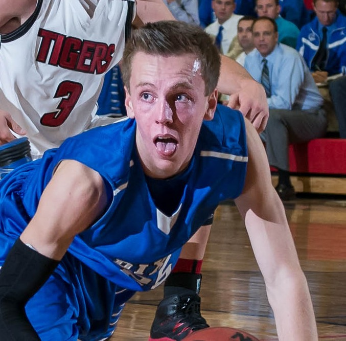 Sam Guymon returned to help Dixie win. File photo from Dixie at Hurricane, Hurricane, Utah, Dec. 18, 2013 | Photo by Dave Amodt, St. George News
