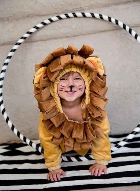 Jude Gardner as a lion, St. George, Utah. Oct. 30, 2013 | Photo courtesy of Randi Gardner