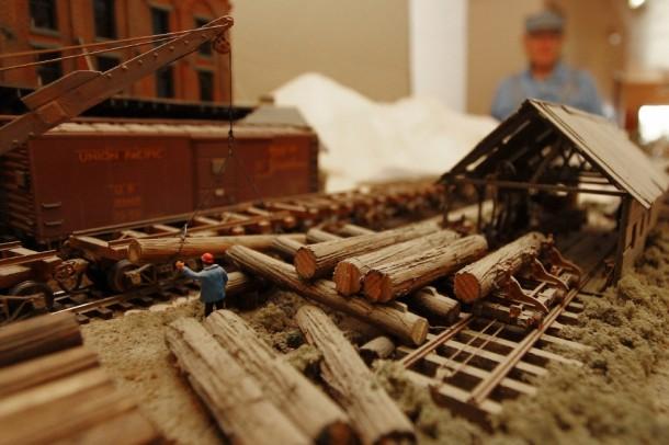 Dave Merrill's model train setup, St. George, Utah, Oct. 14, 2013 | Photo by John Teas, St. George News