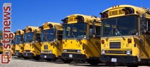 School busses, Utah, 2013 | Photo by John Teas, St. George News