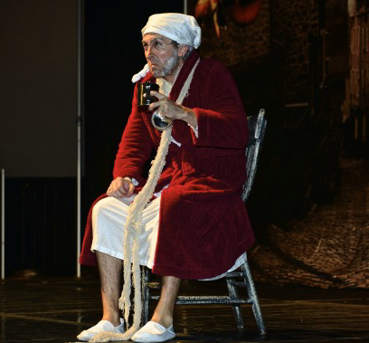 Jared Davis as Ebenezer Scrooge, Dickens Festival 2012, St. George, Utah, Nov. 30, 2012 | Photo by Dave Amodt, St. George News