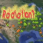 Radiation map issued by Nuclear Emergency Tracking Center website, Dec. 12-13, 2013. The map and accompanying alert were removed as of Dec. 15, 2013 | Image courtesy of National Emergency Tracking Center website founder Harlan Yother