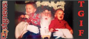 Santa's ready for a weekend? | Photo by Jenn Amico, St. George News