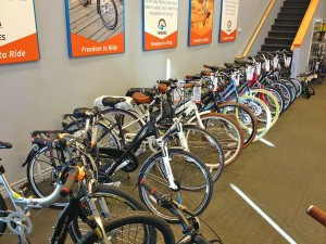 Inside eSpokes, electronic bike shop, St. George, Utah | Photo courtesy of eSpokes, St. George News