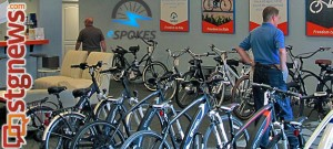 Inside eSpokes, electronic bike shop, St. George, UT 84790, St. George, Utah | Photo courtesy of eSpokes, St. George News
