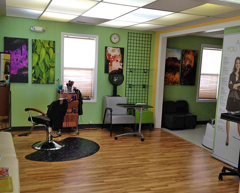 Inside the new Fusion Organic Salon, St. George, Utah, Nov. 20, 2013 | Photo courtesy of Fusion Organic Salon, St. George News