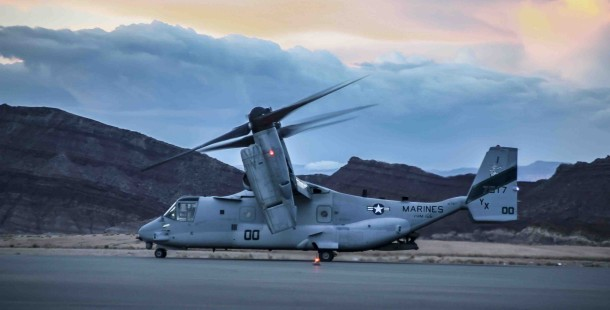 MV-22B Ospreys at St. George Airport for 13th MEU training exercise, St. George, Utah, May 9, 2013 | Photo by A.J. Mellor, St. George News