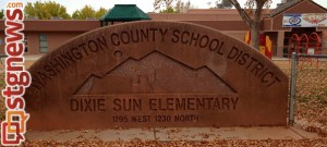 Dixie Sun Elementary School, St. George, Utah, Nov. 19, 2013 | Photo by Misty Amodt, St. George News