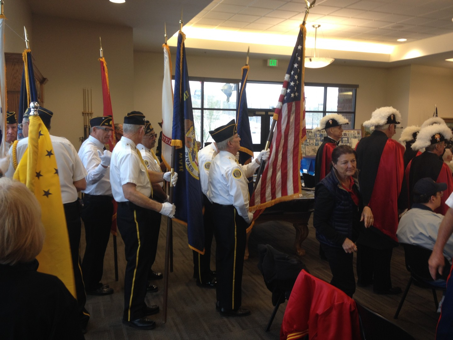 """Memories from """"The Day of Infamy"""" at the Southern Utah Veterans Home's Pearl Harbor survivors ceremony, Ivins, Utah, Dec. 8, 2013 