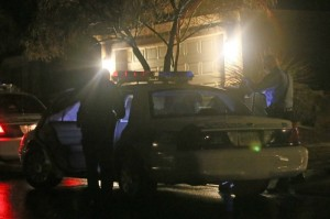 Scene at a residence involved in a domestic violence incident, St. George, Jan 30, 2014 | Photo by John Teas, St. George News