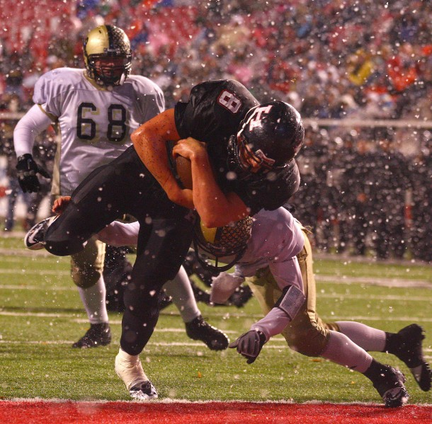 Brian Scott scored the game's only three touchdowns in the 2011 state championship game. | File photo by Robert Hoppie, St. George News