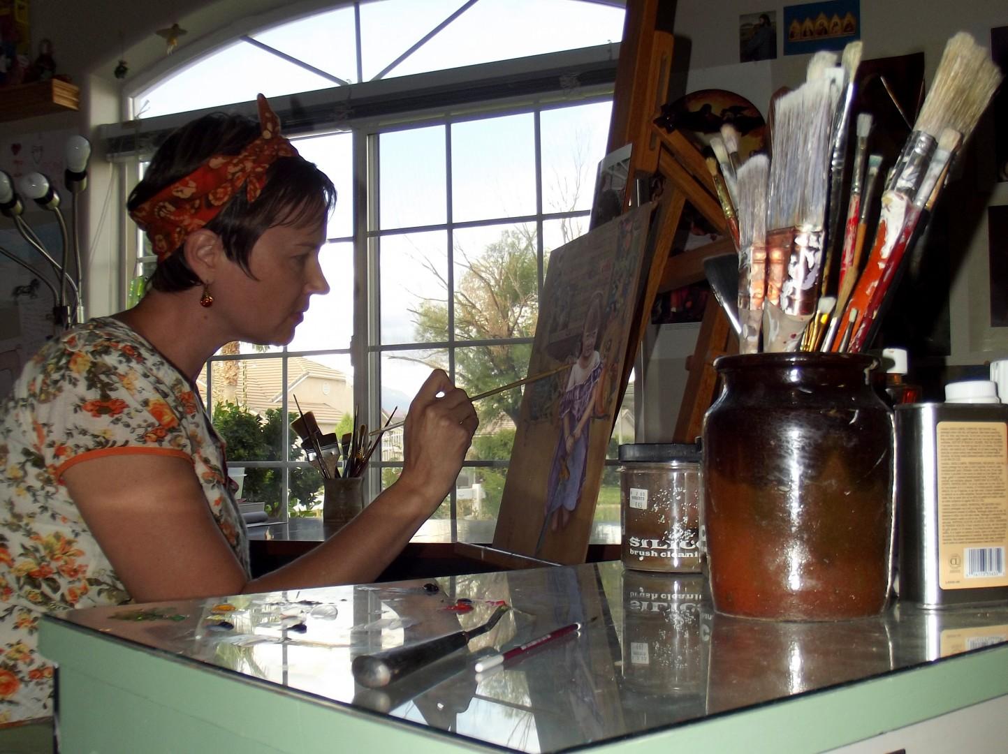 Kirsten Beitler, featured artist in the Arts to Zion tour Jan. 17-20, 2014, St. George, Utah   Photo courtesy of Arts to Zion tour, St. George News