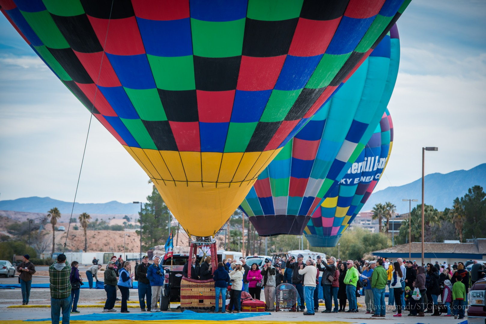 Hot Air Balloon Festival, Mesquite, Nev., Jan. 25, 2014 | Photo by Dave Amodt, St. George News